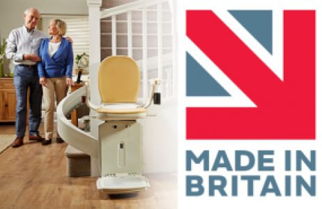 Acorn Stairlifts made in Britain partnership